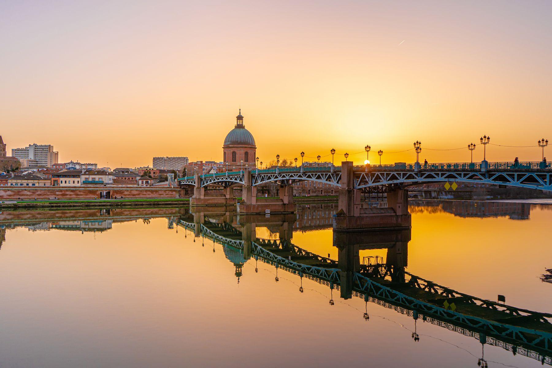 Toulouse en rivier