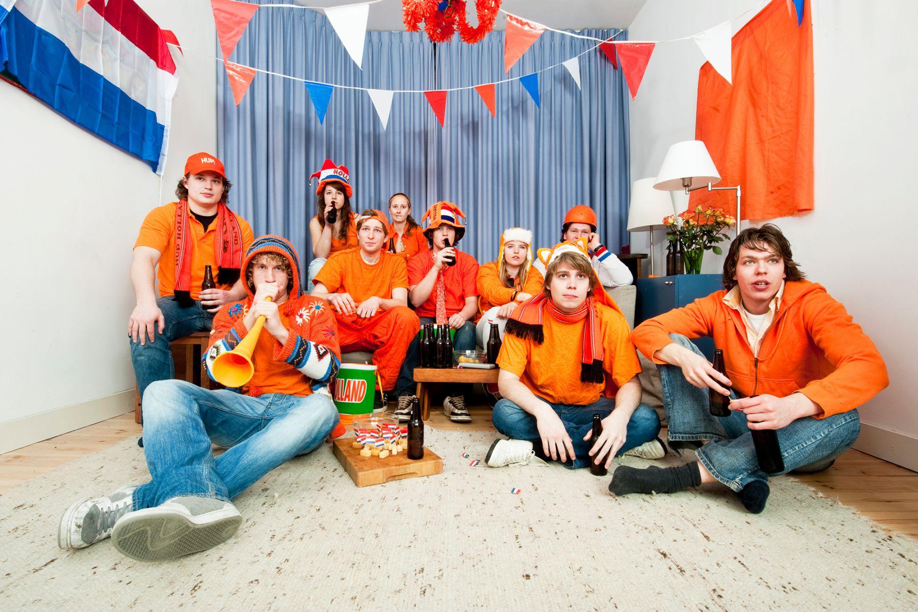 Oranje kijkers