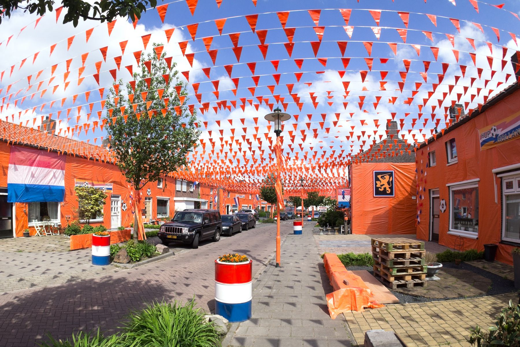 Oranjestraat in Goirle