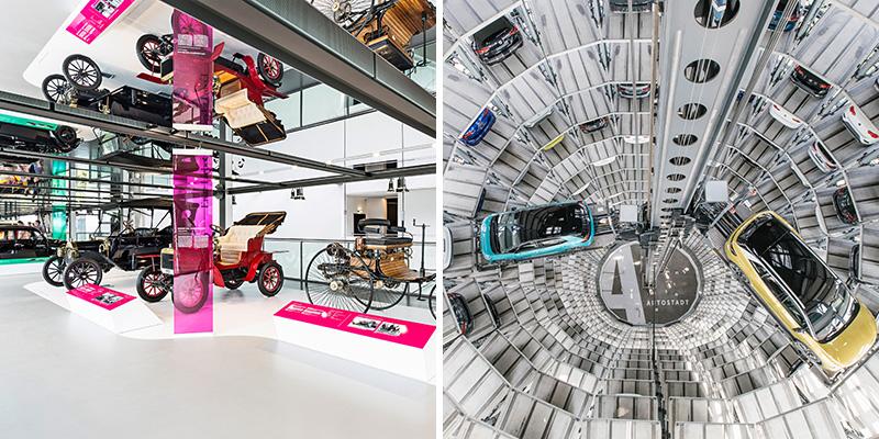 Zeithaus Museum en Autotürme in Autostadt   Credit: © Autostadt GmbH