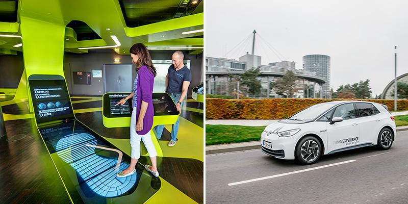 Duurzaamheid beleef je op Level Green en tijdens een van de driving experiences   Credit: © Autostadt GmbH