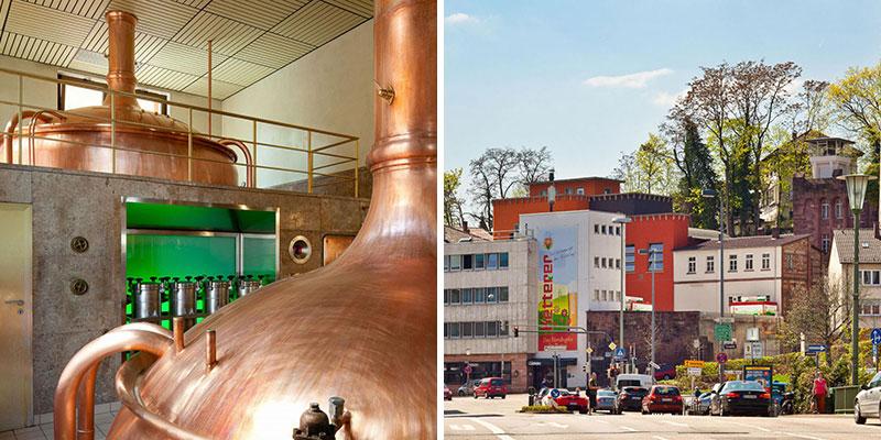 In Pforzheim moet je een van de lokale biertjes geproefd hebben, bijvoorbeeld Ketterer | Credit: Ketterer Braustueble