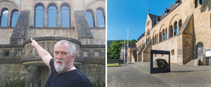 Foto van Thomas Moritz (Credit: Thomas Moritz) en Kaiserpfalz Goslar (Credit: GOSLAR marketing gmbh - diedrehen)