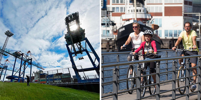 Combineer een stedentrip Bremerhaven met een bezoek aan de omliggende natuur   Credit: CityZapper & Helmut Gross / Erlebnis Bremerhaven