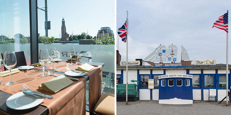 Culinair genieten bij Pier 6 en Treffpunkt Kaiserhafen   Credit: Pier 6 & Marco Butkus