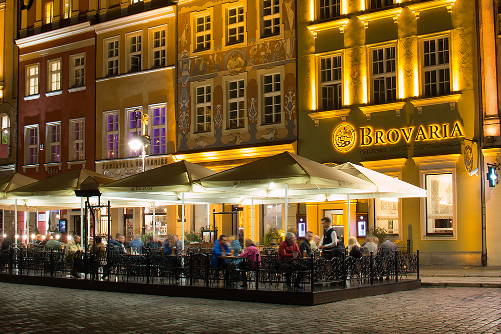 Hotel, restaurant en brouwerij Brovaria in Poznań | credit: Brovaria