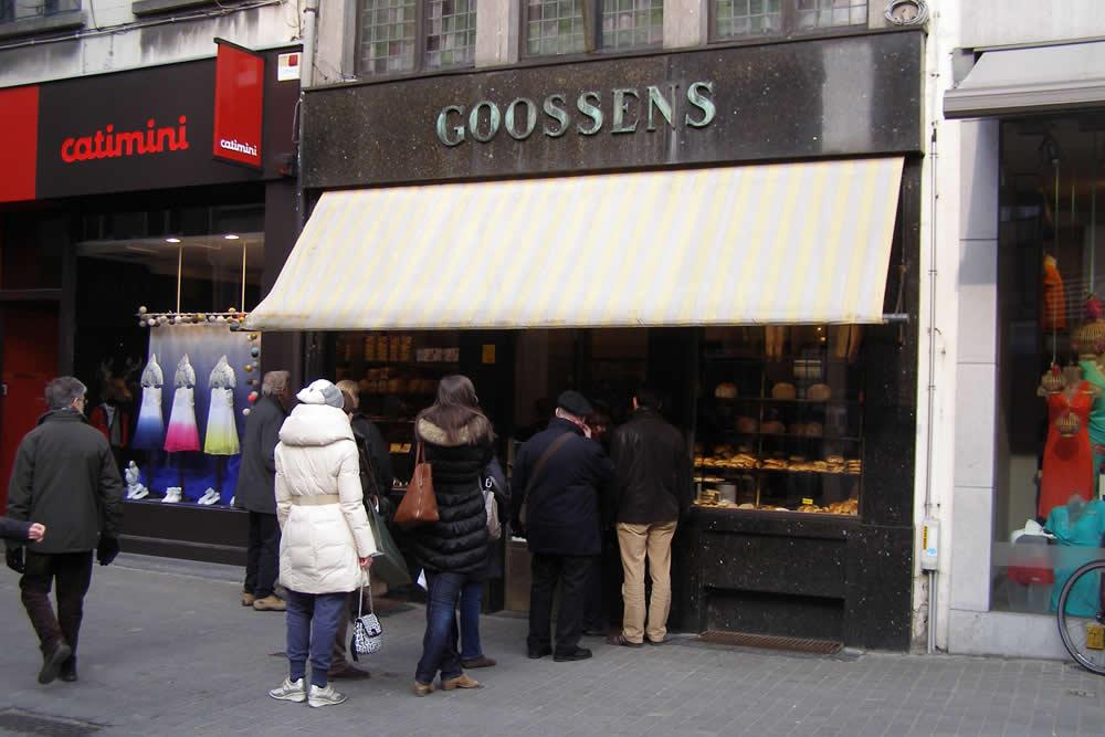 Bakkerij Goossens in Antwerpen - beeld: Erich Ferdinand