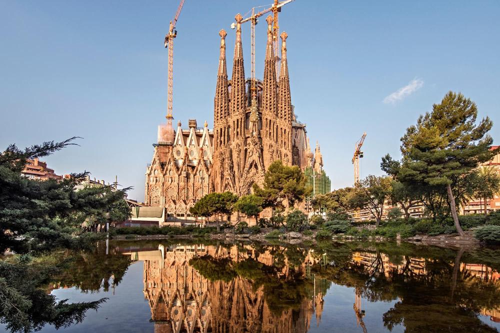La Sagrada Familia in Barcelona. Beeld: Basilica de la Sagrada Famlia Pep Daud
