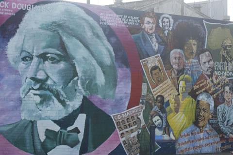 Peace Walls in Belfast. Beeld: Christian Clerx - CityZapper