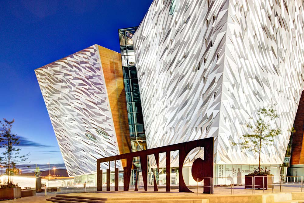 Titanic Belfast. Beeld: Tourism NL