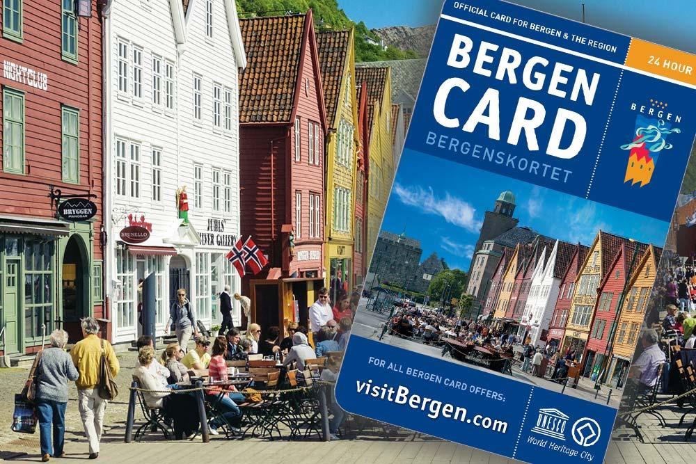 Bergen Card. Beeld: Robin Strand (Bergen Tourist Board)