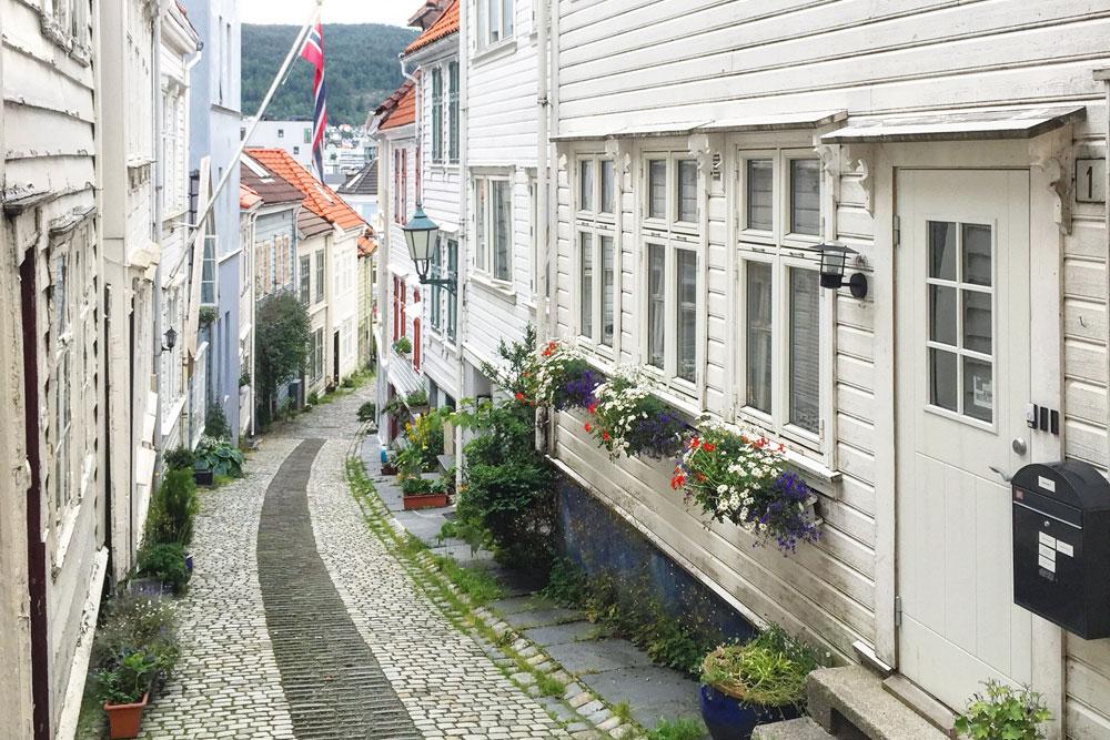 Straatjes in Bergen. Beeld: Bianca van der Ham - CityZapper