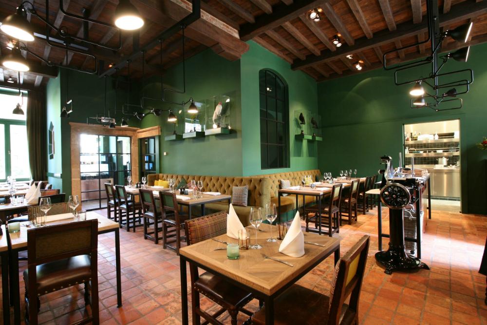 Den Dyver is een restaurant in Brugge. Beeld: Den Dyver