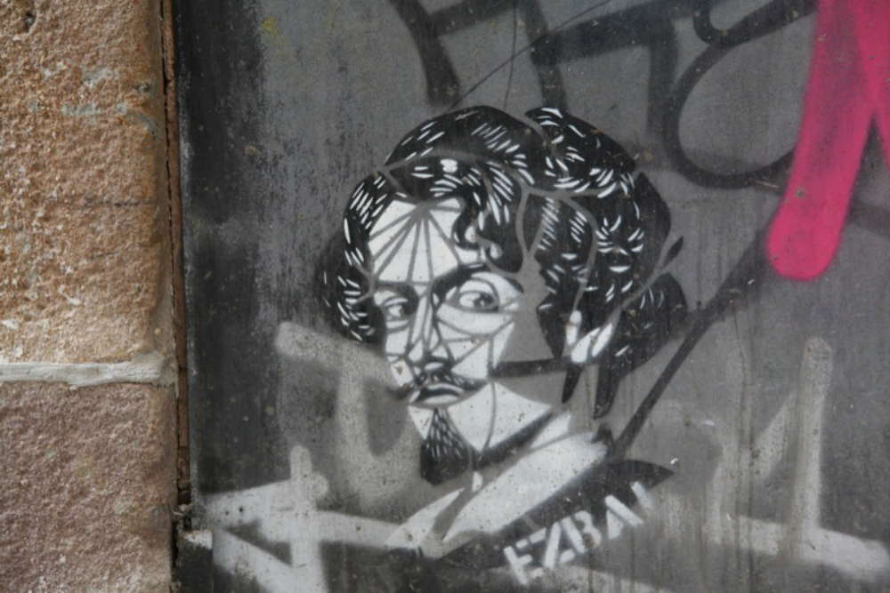Street art in Brussel. Beeld: the euskadi 11 (Flickr)