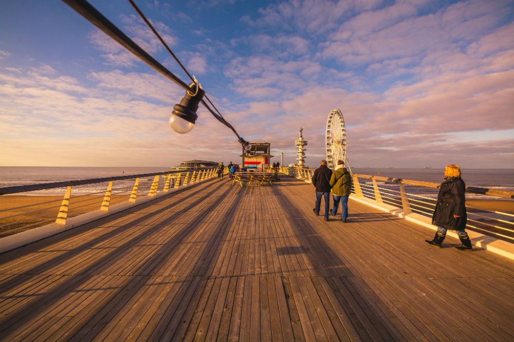 Pier in Scheveningen. Beeld: Danny Tax (Flickr)