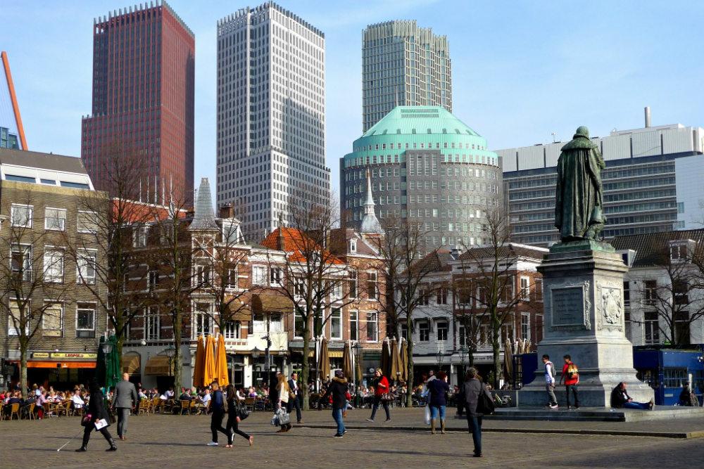Het Plein in Den Haag. Beeld: zoetnet (Flickr)