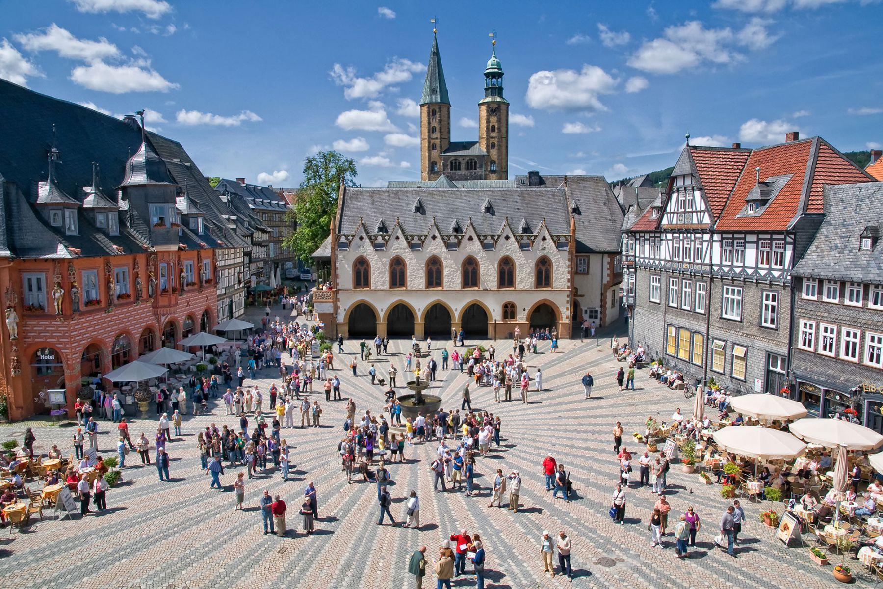 Historische binnenstad van Goslar   Credit: GOSLAR marketing gmbh - Fotograf Stefan Schiefer