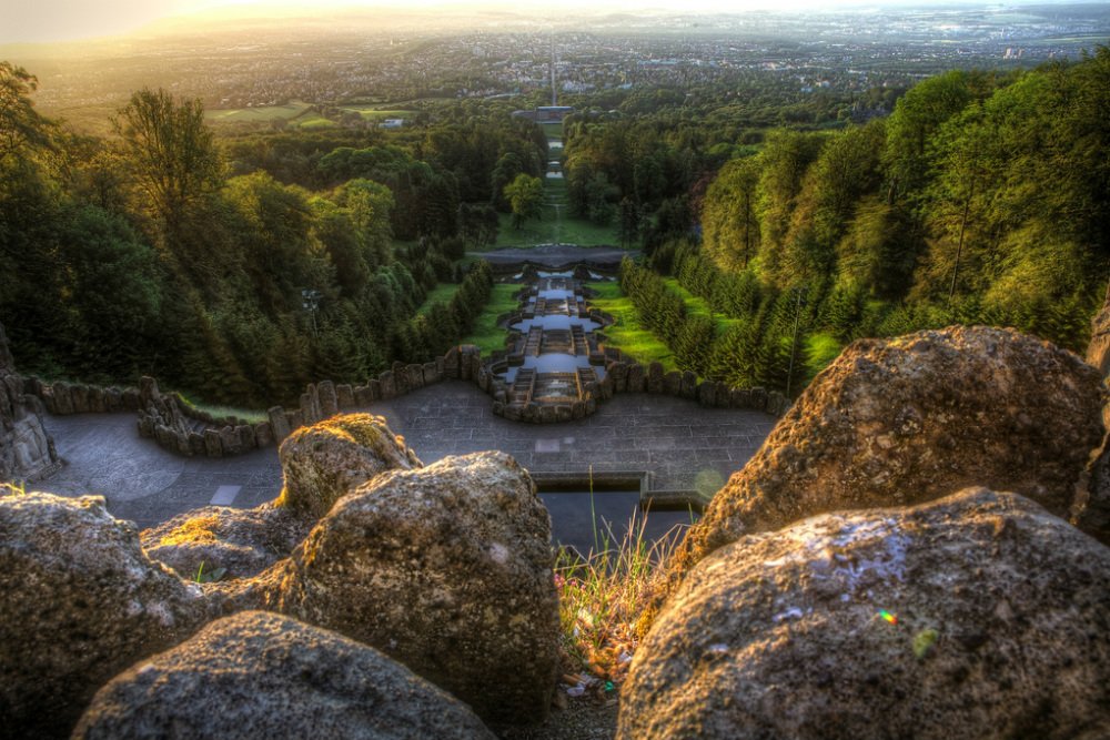 Bergpark in Kassel. Beeld: mischahr (Flickr)