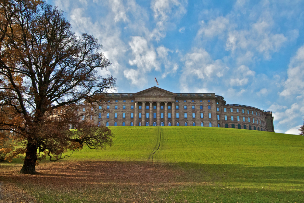 Schloss Wilhelmshohe Kassel. Beeld: Lloyd Morgan (Flickr)