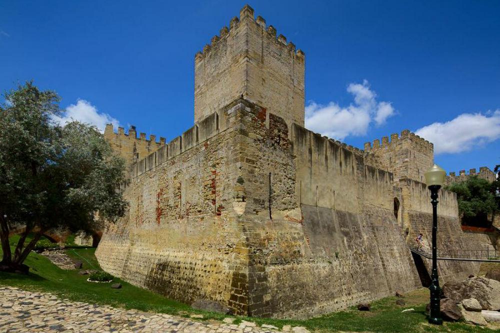 Castelo de São Jorge in Lissabon. Beeld: CSJ Fernando Guerra
