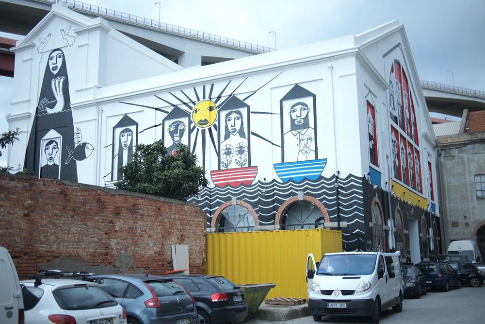 LX Factory in Lissabon. Beeld: Marta Nimeva Nimeviene (Flickr)