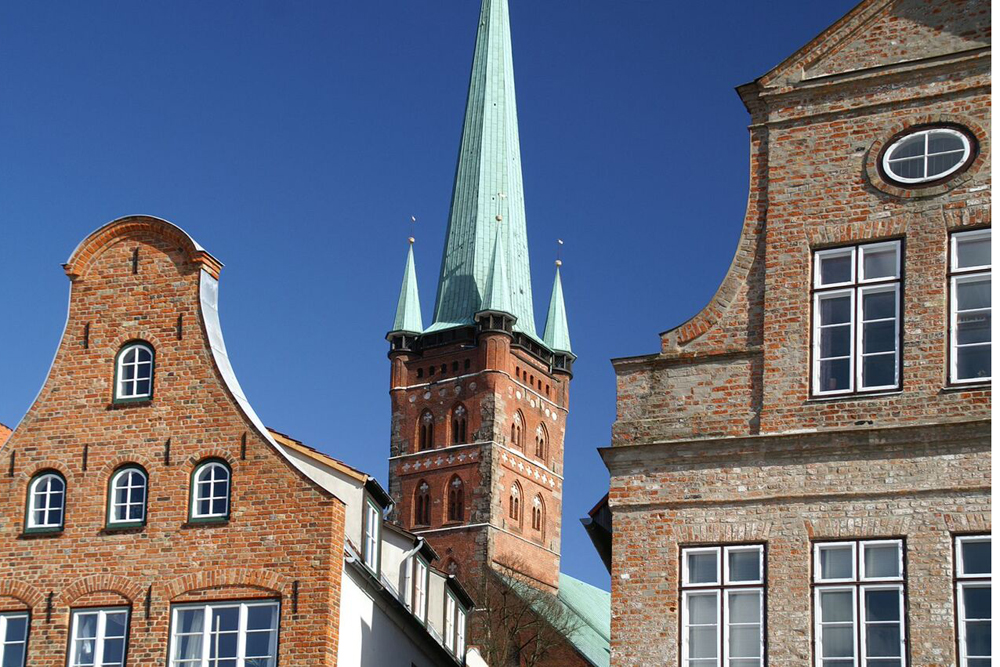 Petrikirche in Lübeck. Beeld: Reinhad Kruschel