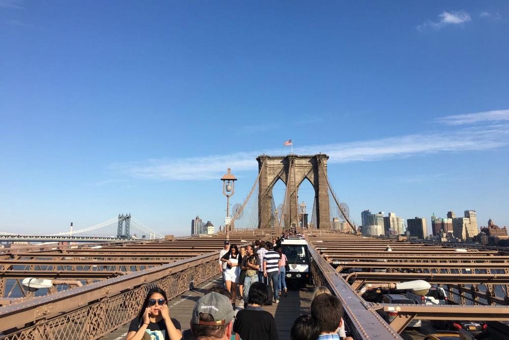 Brooklyn Bridge New York. Beeld: CityZapper - Glenda Kregel