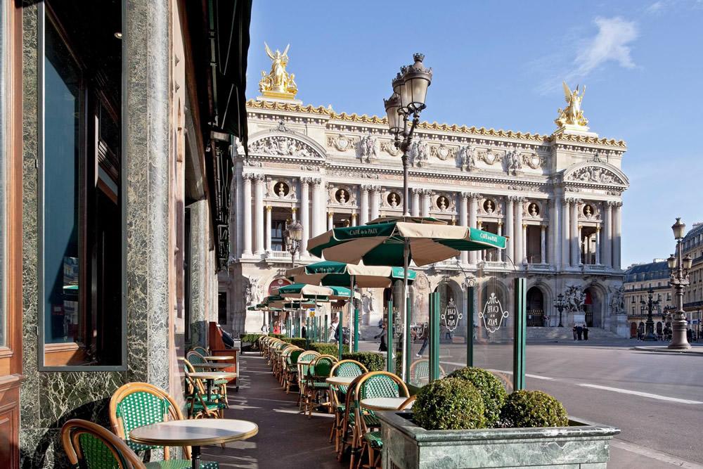 Café de la Paix in Parijs. Beeld: Café de La Paix (Facebook)