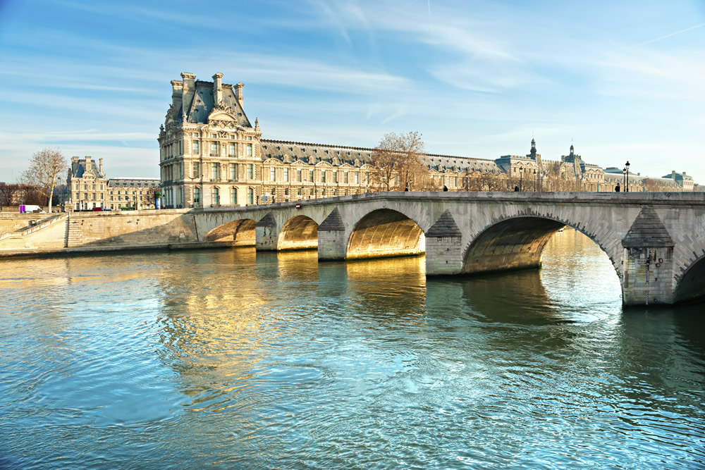 Rivier de Seine in Parijs. Beeld: Thinkstock