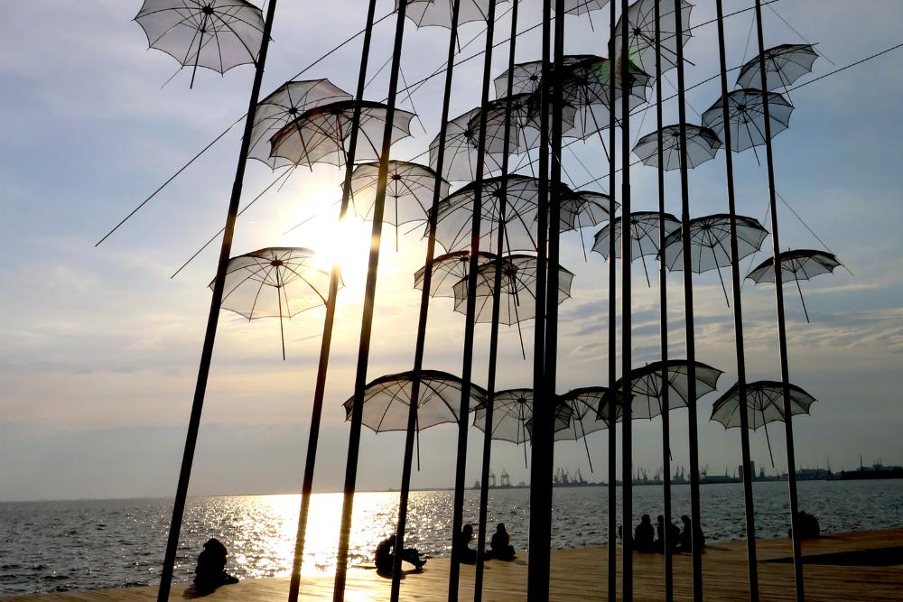 Paraply. Beeld: CityZapper - Bianca van der Ham